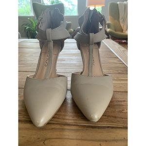 Sole society pointed toe heels